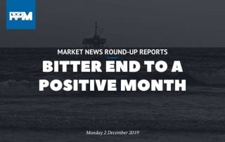Bitter end to a positive month