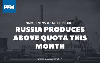 Russia produces above quota this month