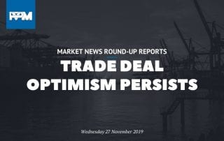 Trade deal optimism persists